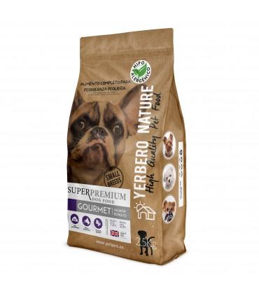 Yerbero NATURE GOURMET comida para perros raza pequeña 2.5kg