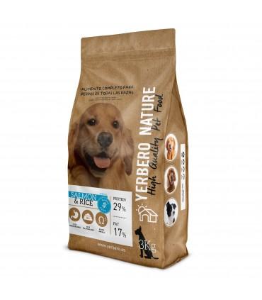 Yerbero NATURE SALMON/RICE comida PREMIUM sin GLUTEN para perros 3kg