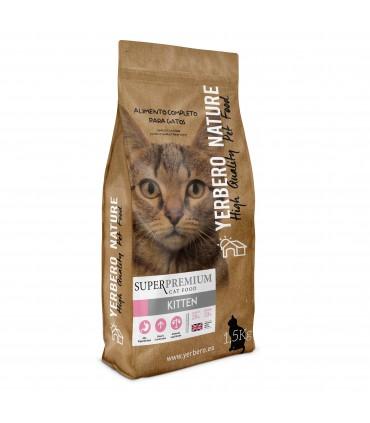 Yerbero NATURE KITTEN pienso superpremium para gatitos 1.5kg