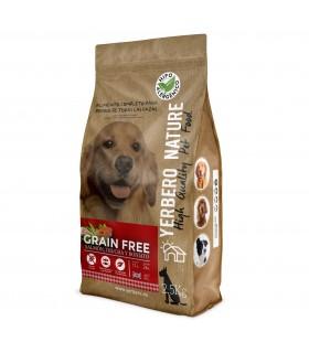 Yerbero NATURE GRAIN FREE comida para perros SIN cereales salmon/trucha 2.5 kg