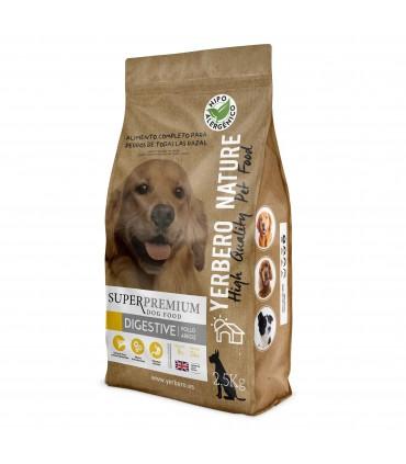 Yerbero NATURE DIGESTIVE comida hipoalergenica para perros 2.5kg