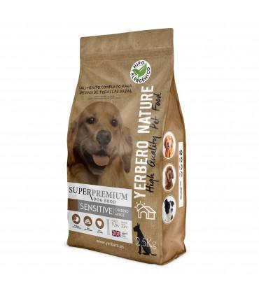 Yerbero NATURE SENSITIVE comida (monoproteica) para perros 2.5kg