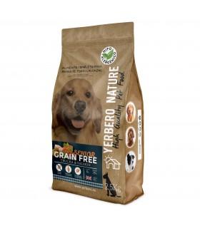 Yerbero NATURE GRAIN FREE SENIOR comida para perros SIN cereales 2.5 kg