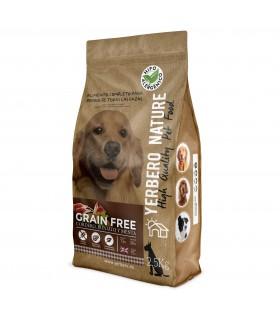 Yerbero NATURE GRAIN FREE de CORDERO comida para perros SIN cereales 2.5 kg