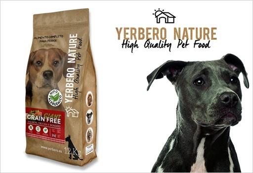 Giant free, Alimentos para perros